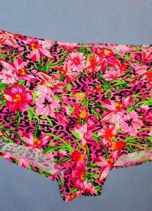 Низ от купальника раздельного женские плавки размер 50-52 / 16 шортиками высокие ретро