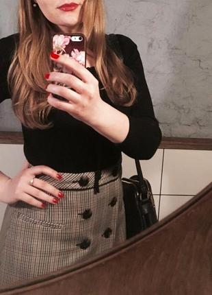 Стильная юбка zara