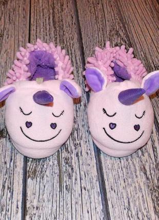 Фирменные тапки lilly&dеn для девочки, размер 12 (19,5 см)
