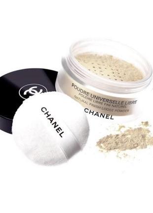 Chanel poudre universelle libre - пудра рассыпчатая универсальная
