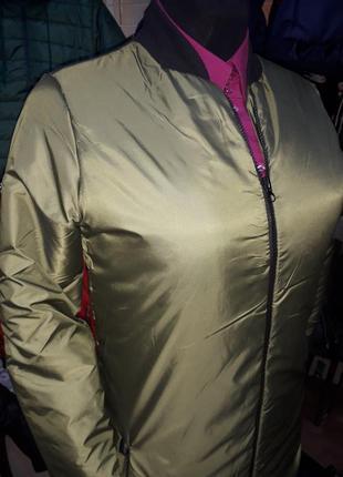 Куртка осенняя демисезонная удлиненная
