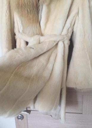 🎀скидка🎀 шикарная нарядная натуральная шуба шубка для модницы