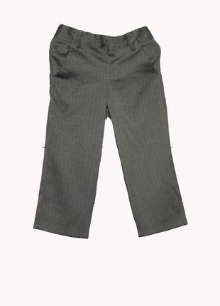 Классические серые брюки на 2-3 года