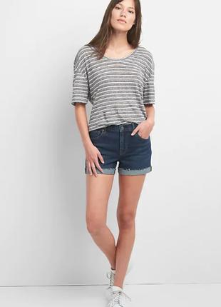 Женские сексуальные шорты бойфренды от gap. размер 25, будет на xs-s