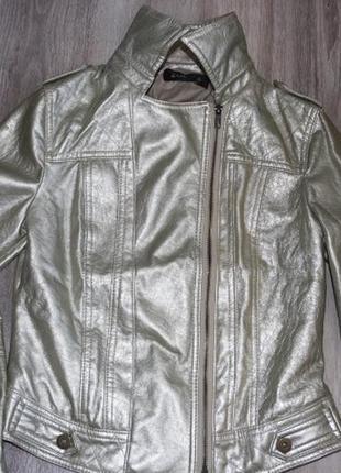 Золотая куртка zoe р. 10