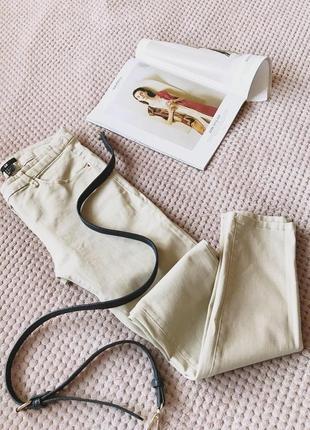 H&m бежевые брюки
