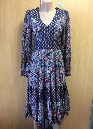 Платье с длинным рукавом размер 8
