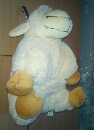 Мягкая подушка овечка/кремовая/poland/racik.