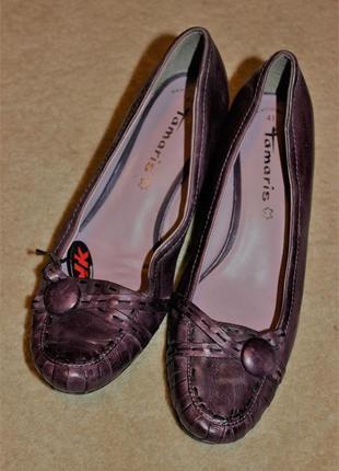 Повністю шкіряні туфлі відомого бреду