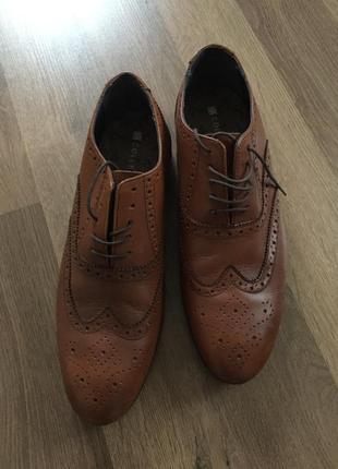 Туфли мокасины marks & spenser