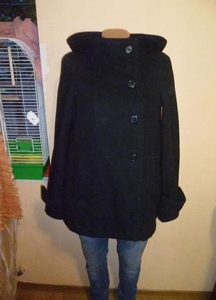 Пальто шерстяное с капюшоном от zara. подписчикам скидка 10% на все товары 🌷🌷🌷