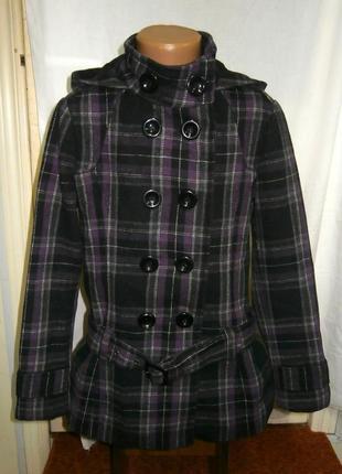 Демисезонное подростковое пальто для девочки c&a