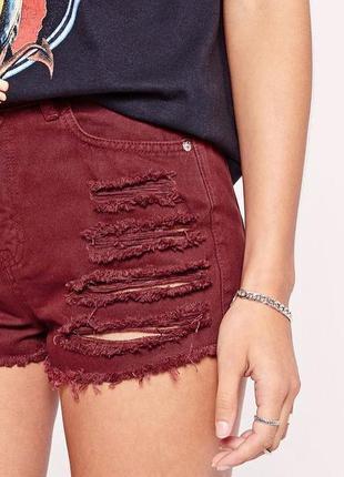 Джинсовые шорты missguided