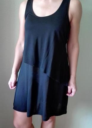 Хлопковое платье или туника ltb с асимметричной маечкой
