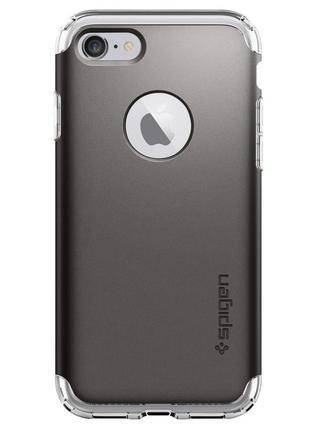 Чехол spigen hybrid armor для iphone 7 8 и plus оригинал новый в упаковке