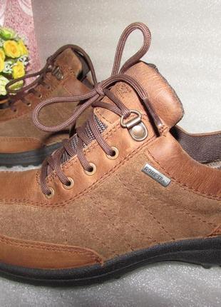 Туфли мокасины 100% натуральная кожа ~hotter~англия р 41