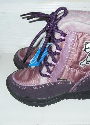 Демисезонные ботинки для девочки   - cunda