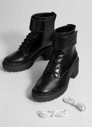 Фирменные крутые ботинки на шнуровке р.  36, 37, 38, 39, 40