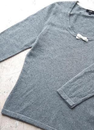 Брендовый свитер кашемир шелк hobbs
