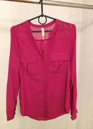 Блуза-рубашка bershka