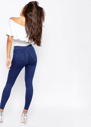 Синие джинсы джегинсы