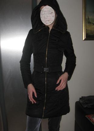 Пуховое пальто (пух) s (34)  торг