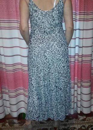 Шифоновое платье от per una2 фото