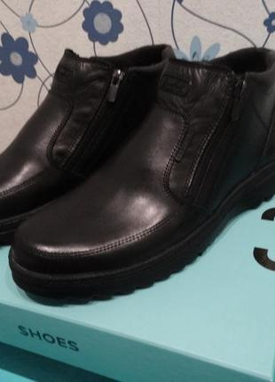 Теплые зимние ботинки casual великобритания