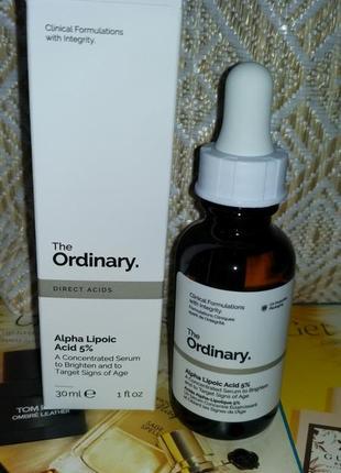 Сыворотка с альфа-липоевой кислотой the ordinary alpha lipoic