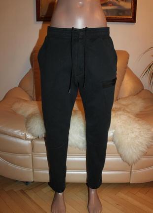 Крутые черные брюки найк оригинал nike m