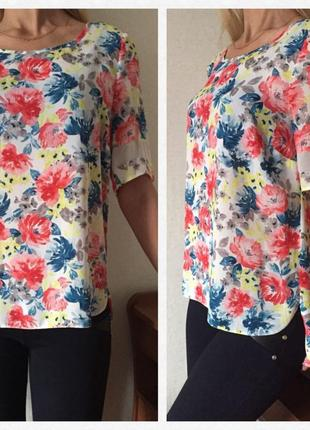 Нежная 💕 воздушная блуза/футболка