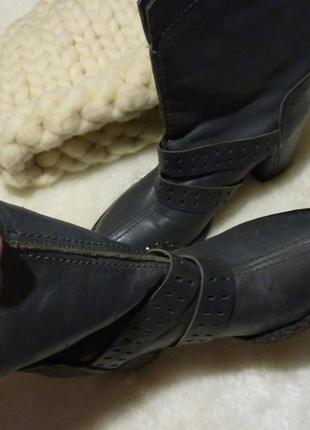 Ботинки кожа натуральная деми отличное качество