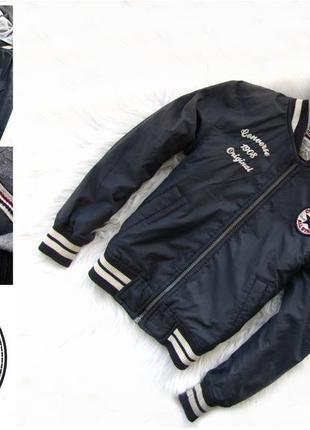 Стильная демисезонная куртка с капюшоном converse