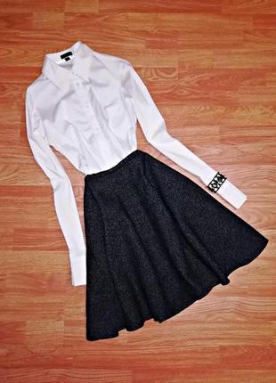 "Потрясающая теплая юбка ""солнце"" monki - размер 44-46"