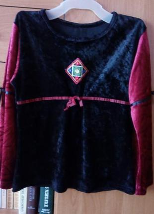 Блузка  на девочку-9-10лет,турция
