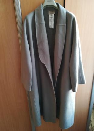 Пальто кашемірове бренду armani