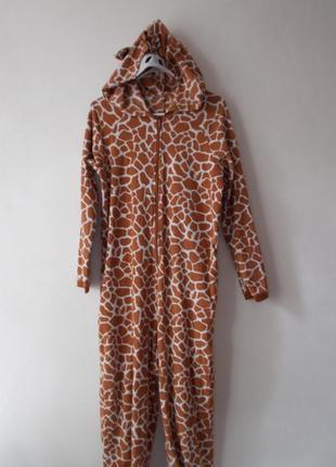 Пижама человечек жираф кигуруми жираф