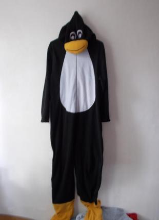 Пижама кигуруми пингвин cedarwood state пижама человечек