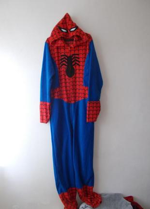 Пижама человек паук marvel кигуруми спайдермен человек паук