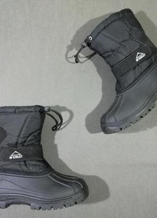Зимние термо-ботинки mckinkey