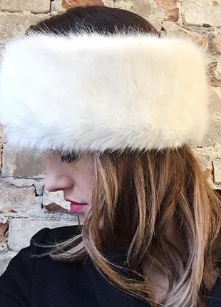 Теплая меховая повязка от miss selfridge