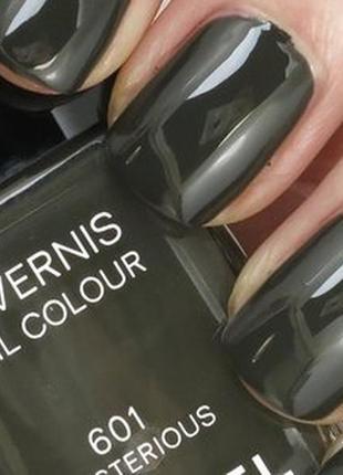 Лак для ногтей chanel le vernis nail colour тон 601 mysterious