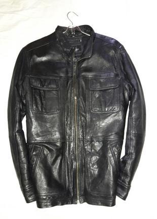 Курточка кожаная размер л или 50-52
