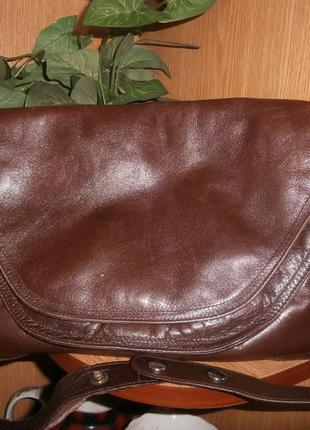 Удобная сумка-папка /100%кожа+бонус