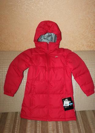 Новое пальто-пуховик девочке  9-10, 11-12, 13 лет от trespass, англия