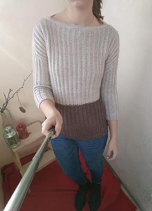 Очень теплый свитер trikobakh