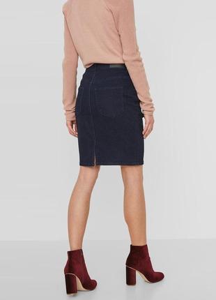 Джинсовая юбка-карандаш tommy hilfiger на 46-48 размер