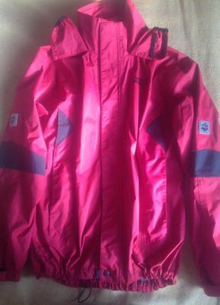 Рефлективная мембранная куртка/ветровка  jack wolfskin