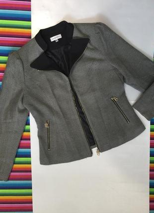 Пиджак жакет chianti размер  12-14 наш 46/48 цена 100грн.