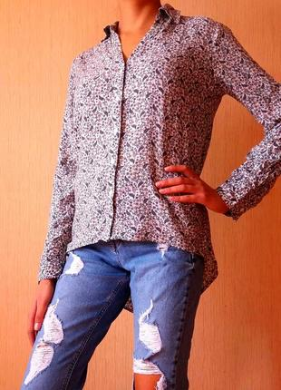 Распродажа!!! безумно красивая асиметричная рубашка от2 фото